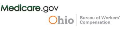 medicare.gov, ohio BWC logos